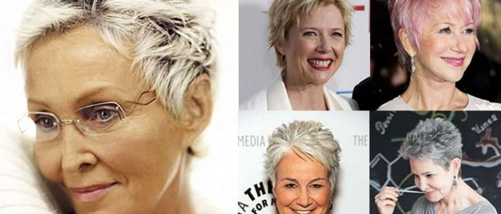Pixie Short Haircuts for Older Women Over 50 & Trend 2017 & 2018 Spring Summer Short Haircut Ideas