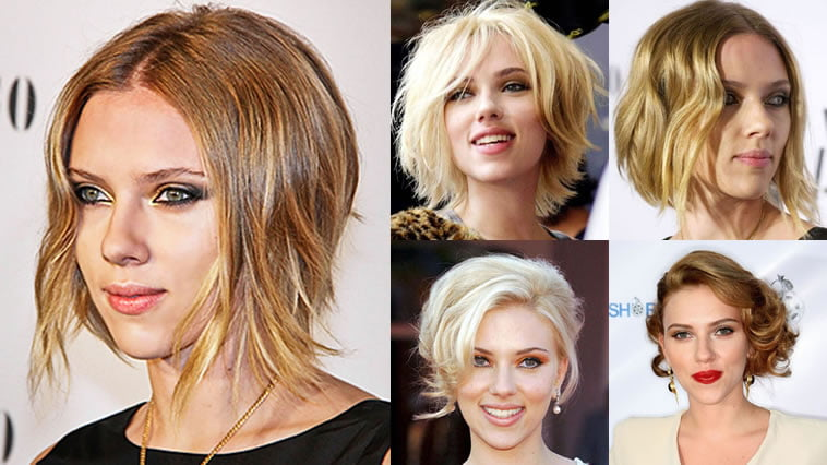 Scarlett Johanssons Hairstyles 2018 Bobpixie Haircuts For Short