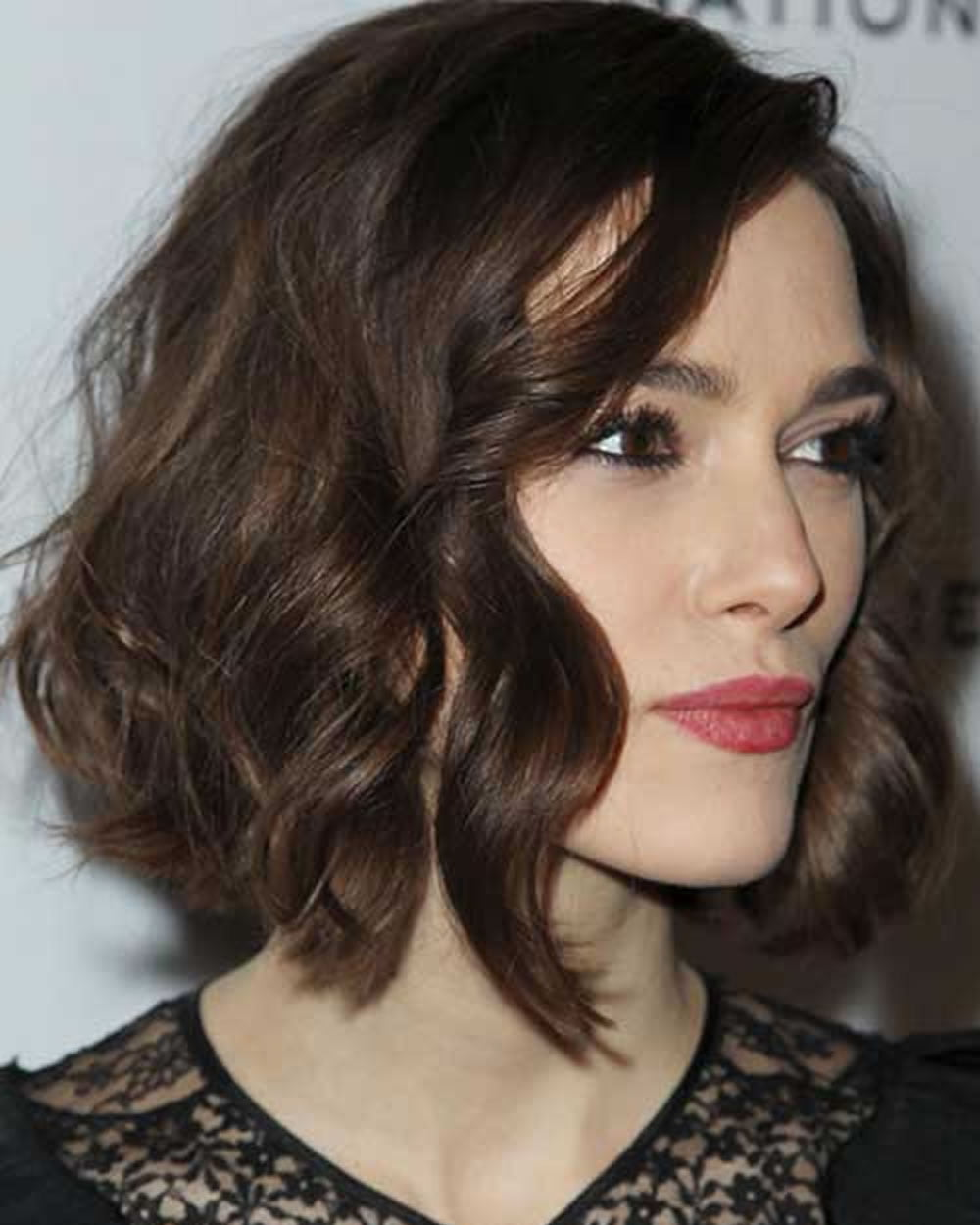 Curly Or Wavy Short Haircuts For 2018 25 Great Short Bob Hairstyles