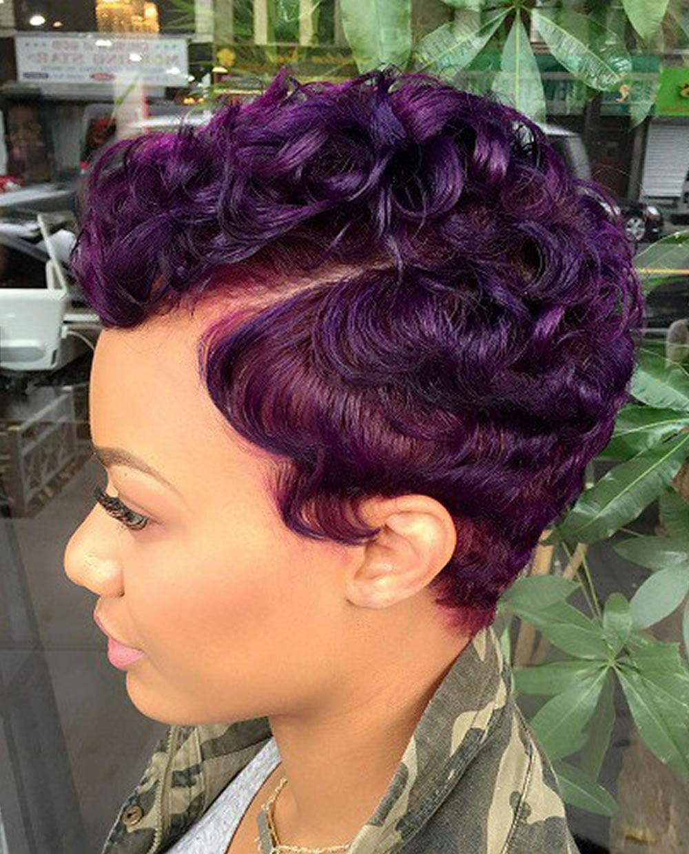 Short Haircuts African American Women 2018 Very Short Pixie Hair