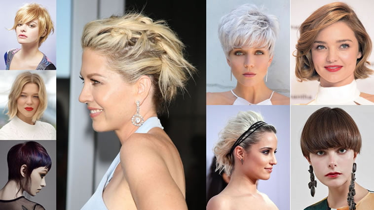 Short Hairstyles For 2019: 25 Trendy Short Hair Cut 2018