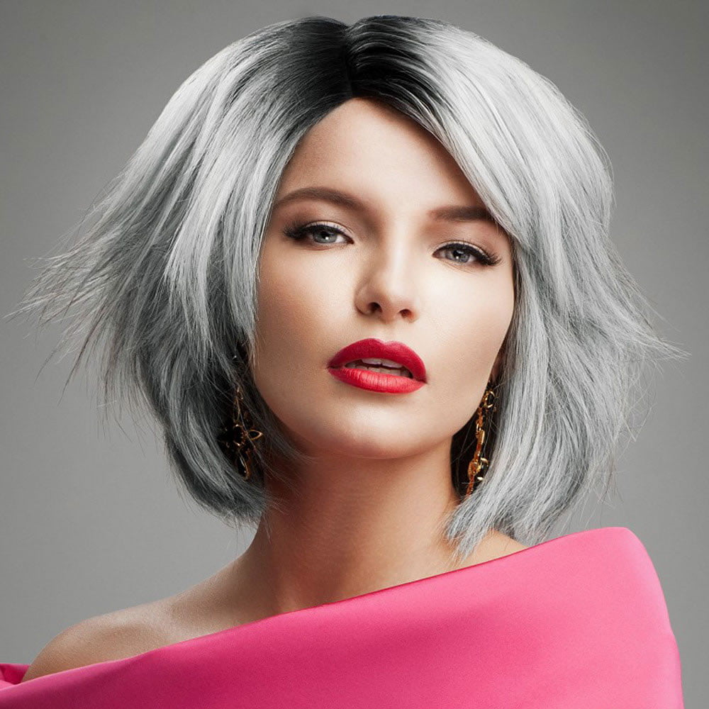 silver hair styles 2018 hairstyles for hair amp easy fast pixie and bob 9761