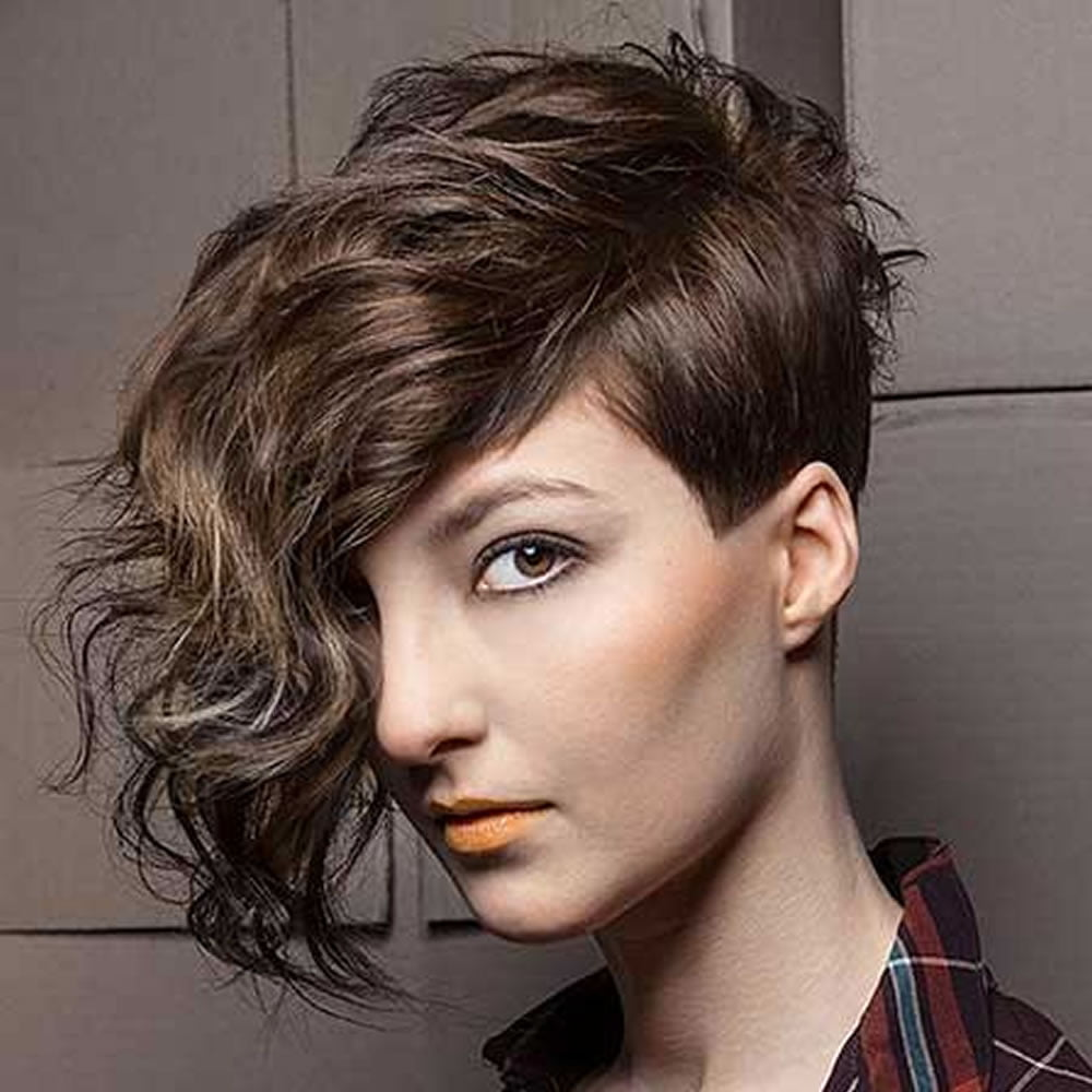 2018 Undercut hair design for girls – Pixie hairstyle ...
