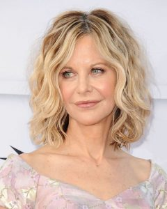Curly Wavy Haircuts For Older Women 2018 2019 Medium Hair Style