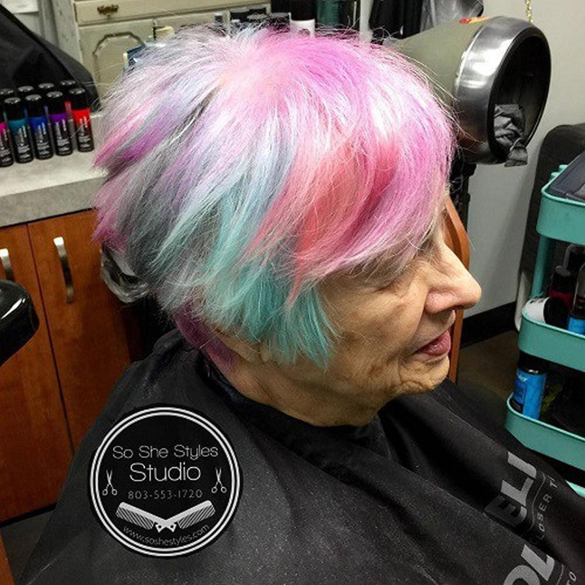 short gray hairstyles for older women over 50 � gray hair