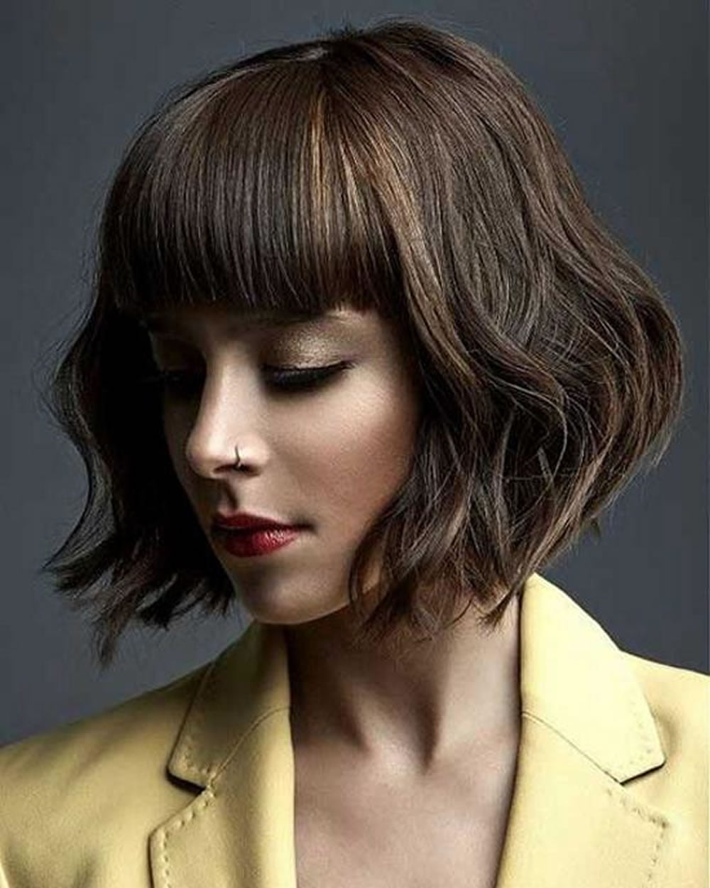 medium bob hair styles 29 top medium bob haircuts amp layered wavy curly etc bob 7838