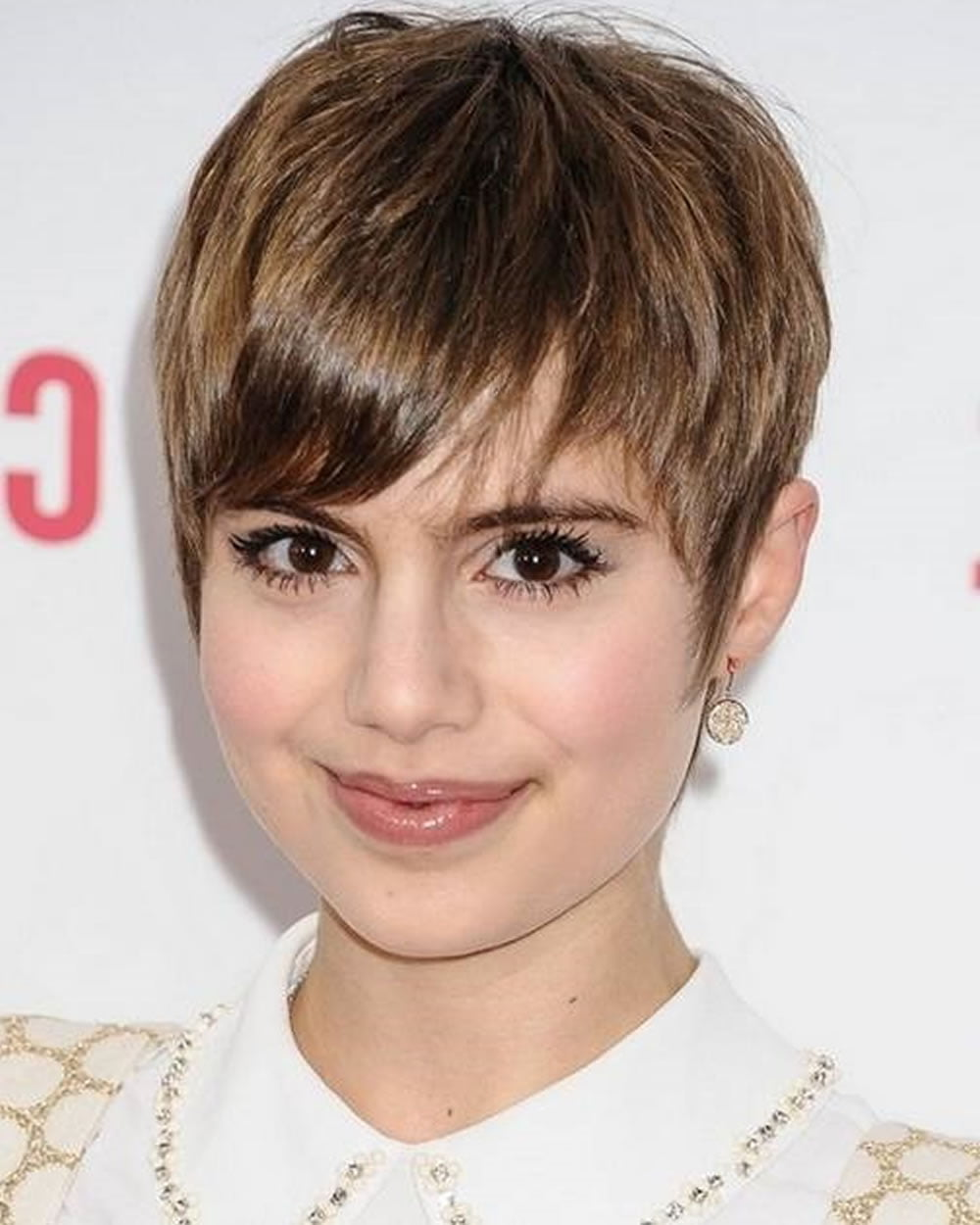Pixie Hairstyles for Round Face and Thin Hair 2018 - HAIRSTYLES