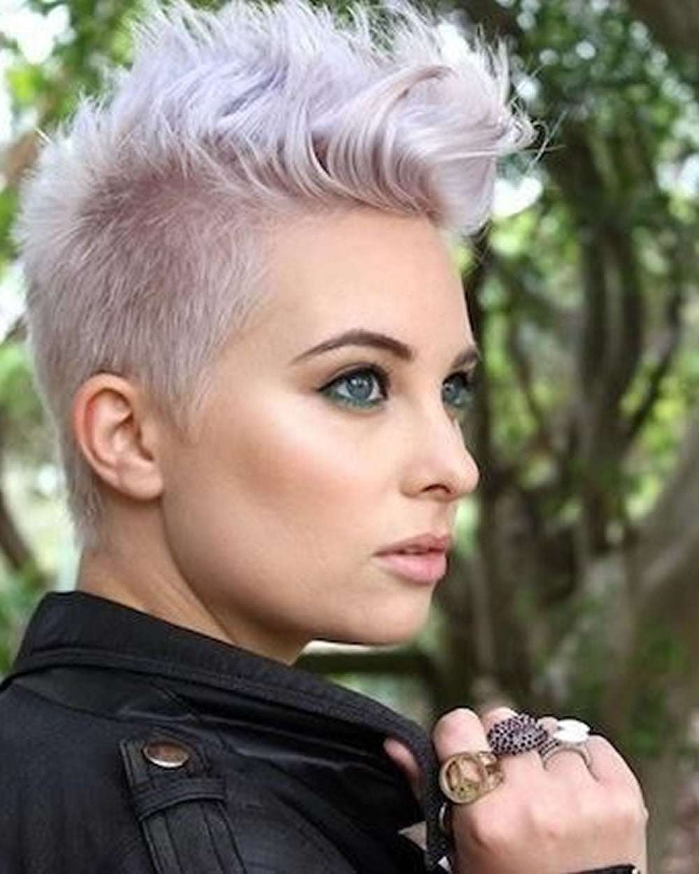 Pixie Hairstyles for Round Face and Thin Hair 2018 ...