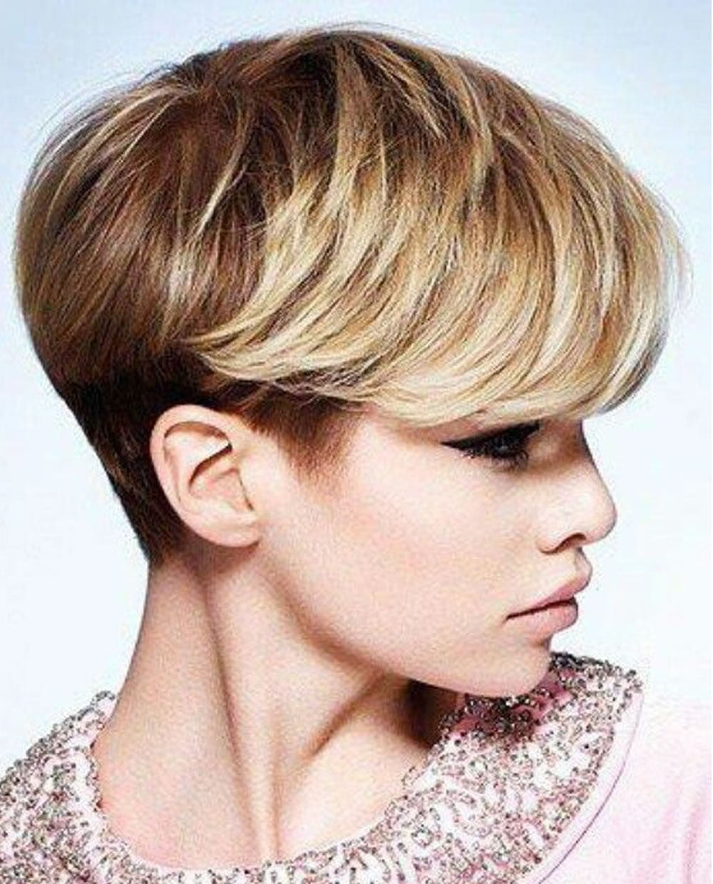 pixie style haircuts for hair ombre pixie haircut for 2018 amp hair colors 2678