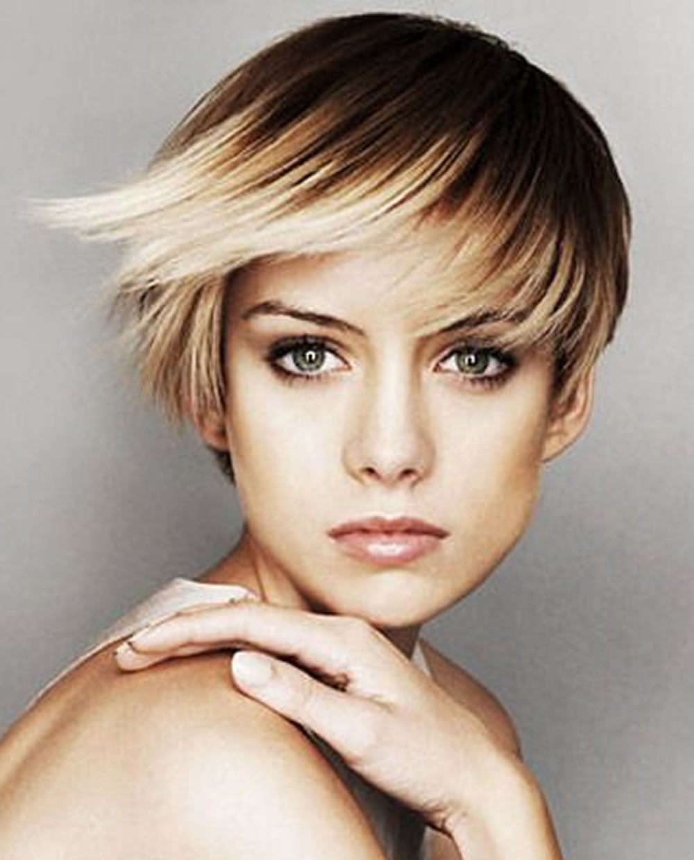 Short Ombre Pixie Haircut For 2018 Hair Colors Hairstyles