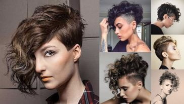 The Newest 2018 Undercut Hair Design for Girls - Pixie+Short Haircut