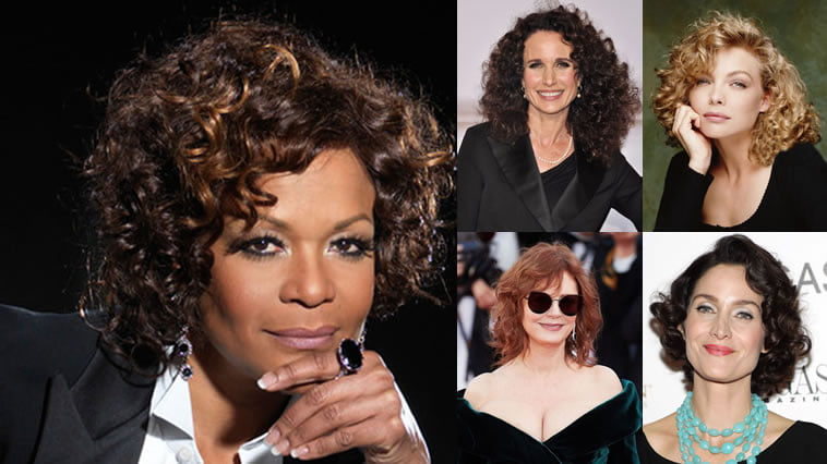 Trendy Wavy & Curly Haircuts For Older Women