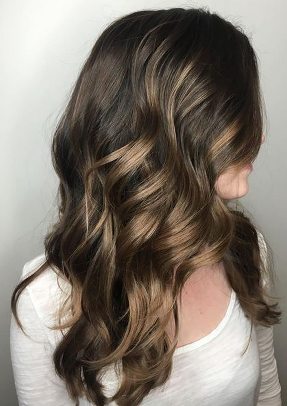 Balayage Ombre Highlights 2018 Dark Brunette Blonde Etc