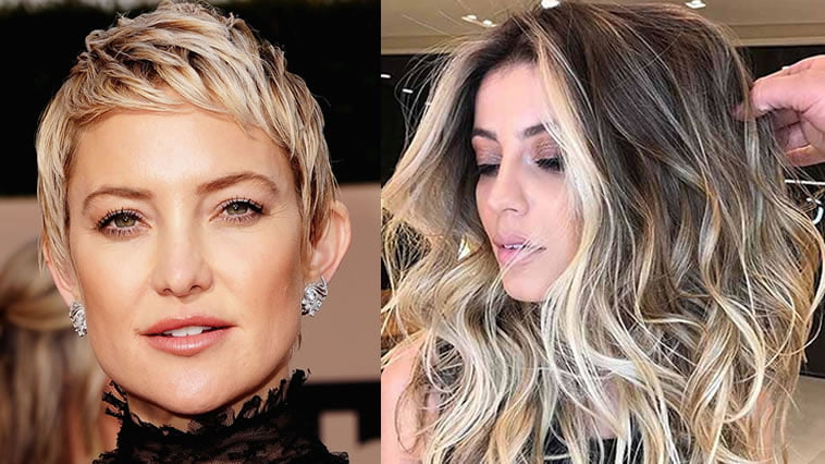 Balayage Ombre Highlights 2018 - Dark, Brunette, Blonde etc. Hair Ideas