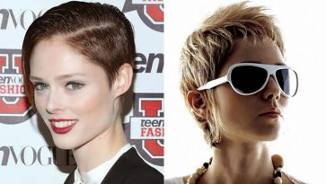 Easy Short Hairstyles and Hair Cut Images for Women 2018-2019 & Trend Hair Colors