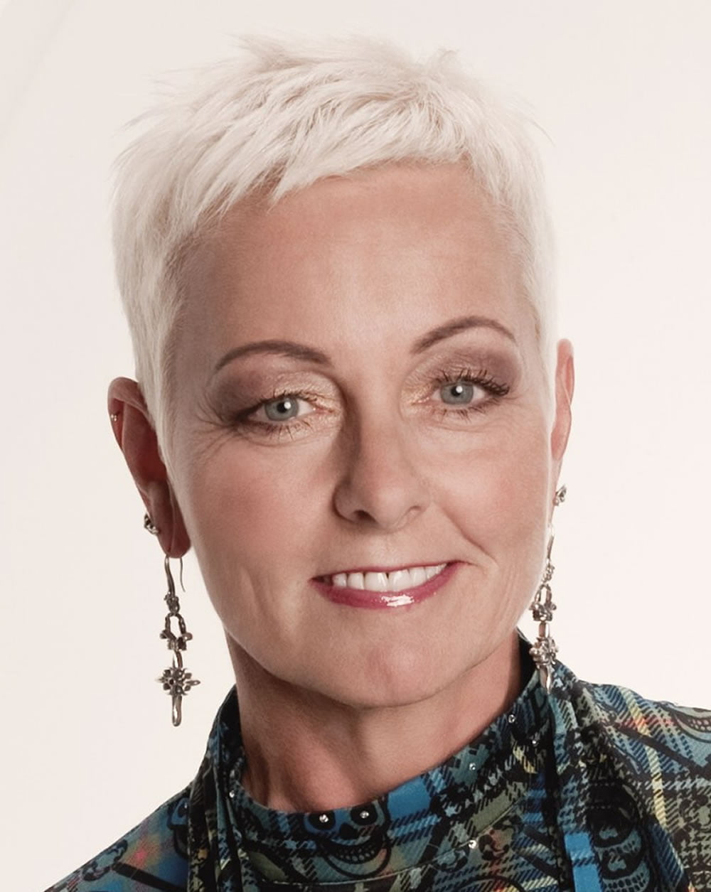 photo of mature woman short hair