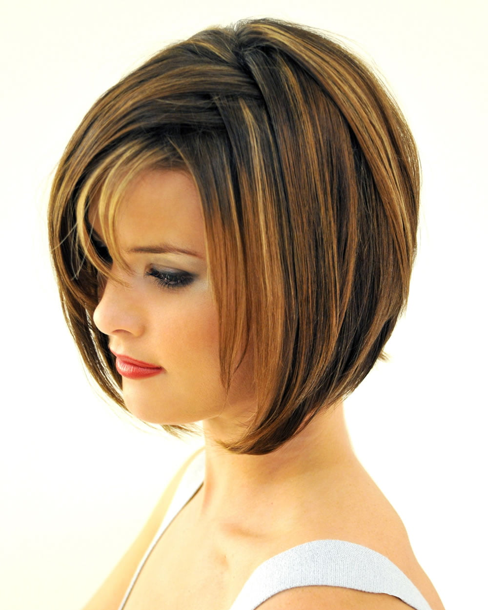 layered haircut with bangs 30 best bob haircuts with bangs and layered bob 4047