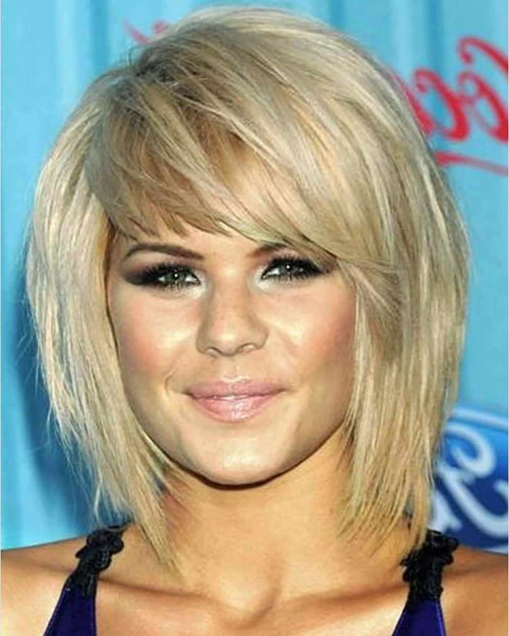 2018 Bob Hairstyles With Bangs Short Haircut And Layered