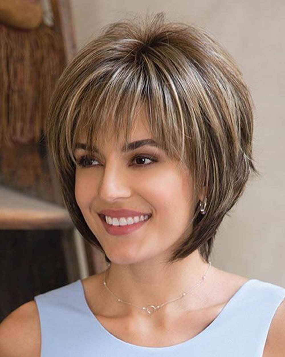 30 best short bob haircuts with bangs and layered bob hairstyles