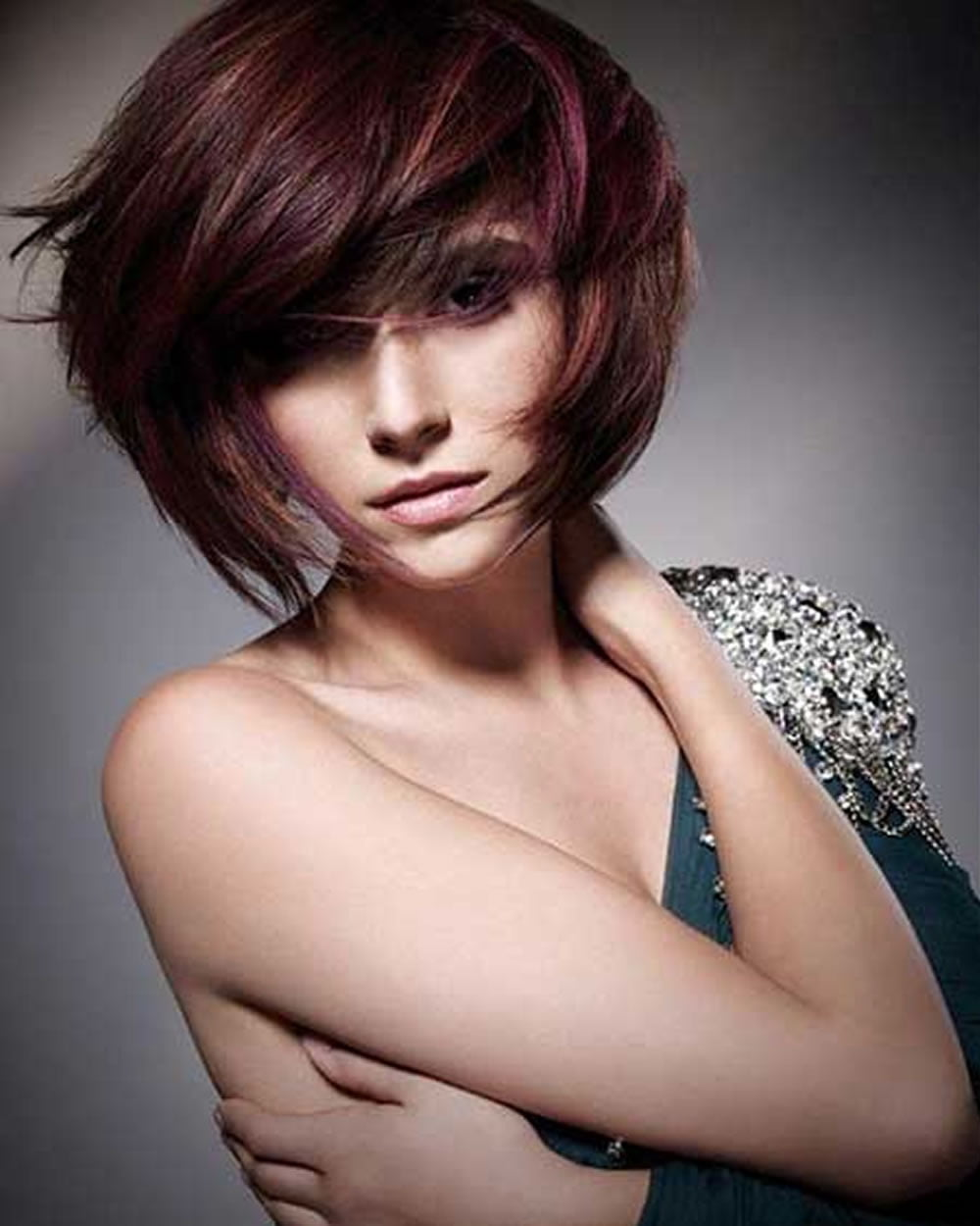 bob haircut with bangs and layers 30 best bob haircuts with bangs and layered bob 5640