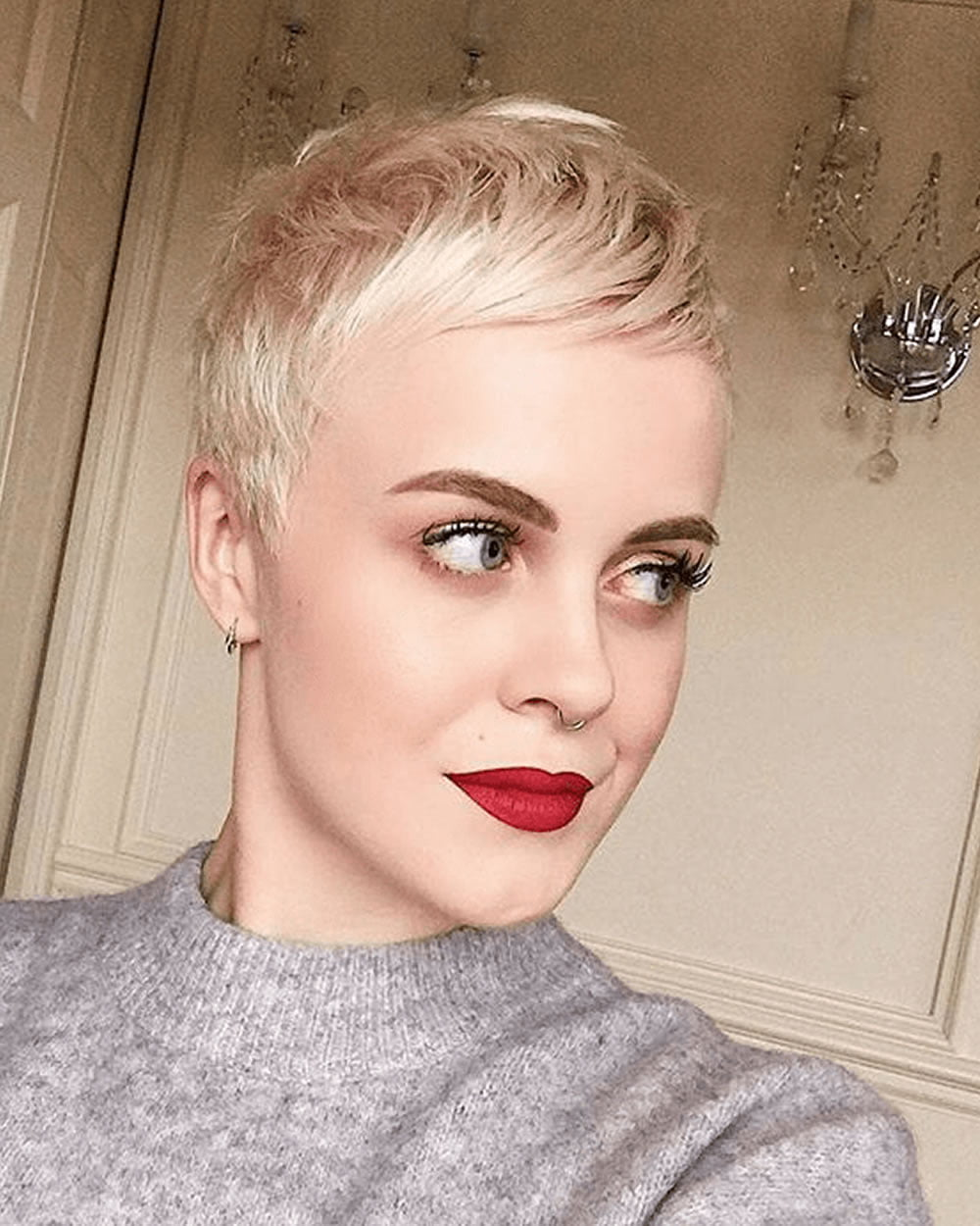 25 Ultra Short Hairstyles + Pixie Haircuts & Hair Color Ideas for ...