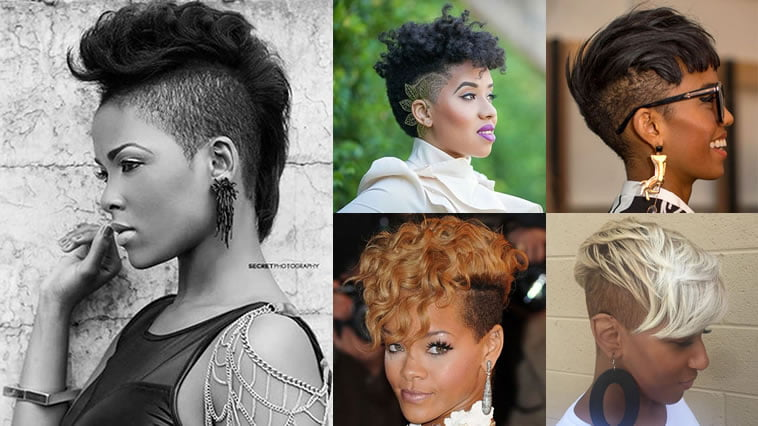 Short Hairstyles For 2019: Undercut Short Hairstyles For Black Women & Which One