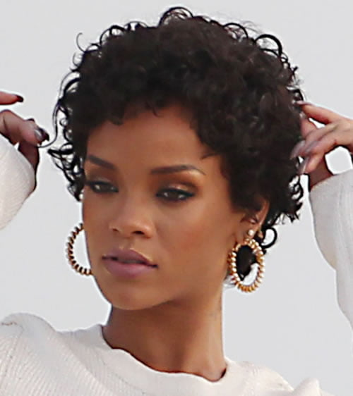 Curly Pixie Hairstyles for Black Women