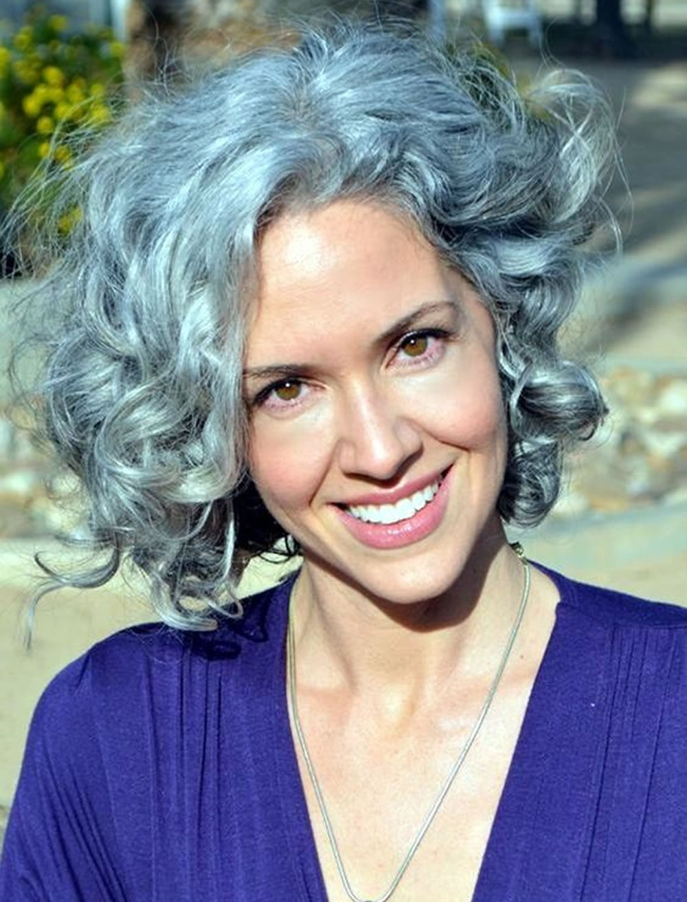 Curly Short Hairstyles For Older Women Over 50 Best Short Haircuts