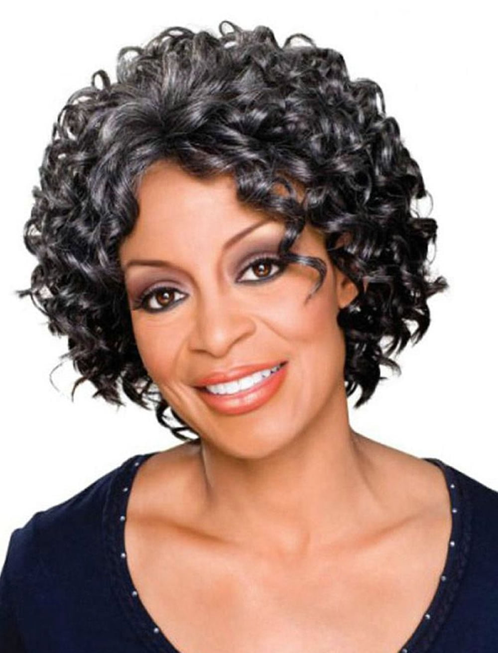 Curly Short Hairstyles for Older Women Over 50 - Best ...