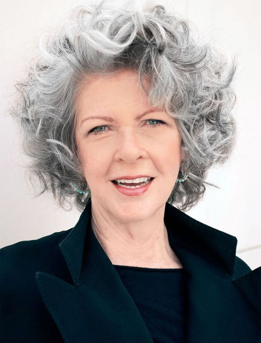 Curly Short Hairstyles for Older Women Over 50 – Best ... - photo #36