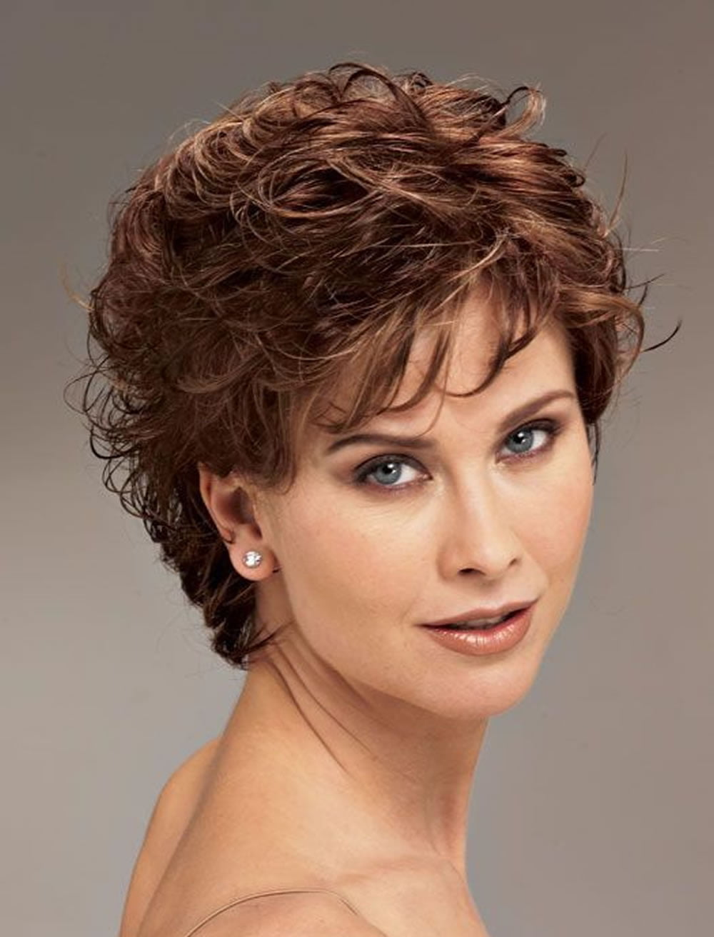 Curly Short Hairstyles for Older Women Over 50   Best ...