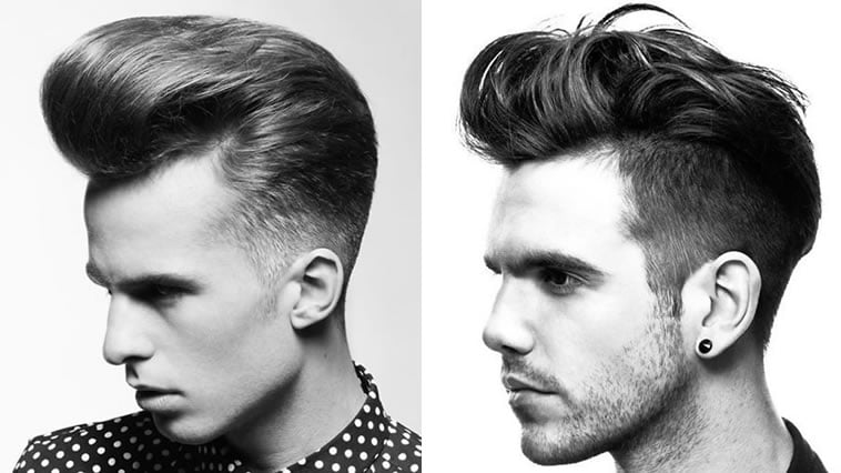 Pompadour Hairstyle for Men 2018 - Modern, Fade, Big Volume, Side Part Etc