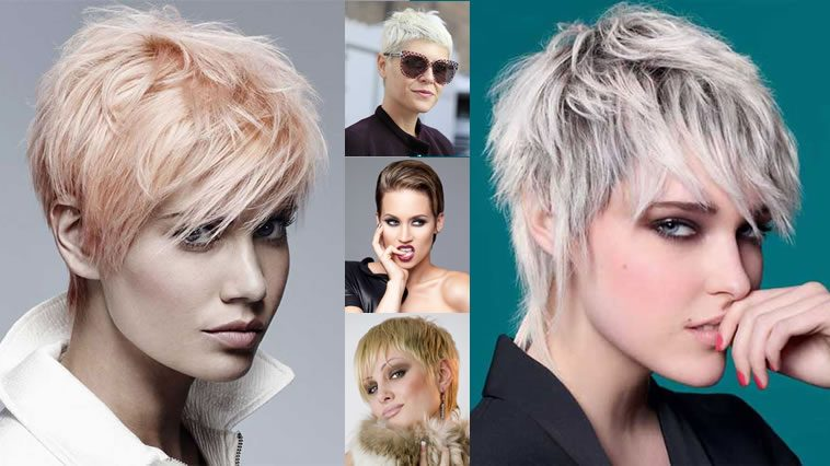 Short Hairstyles and Hair colors 2018-2019