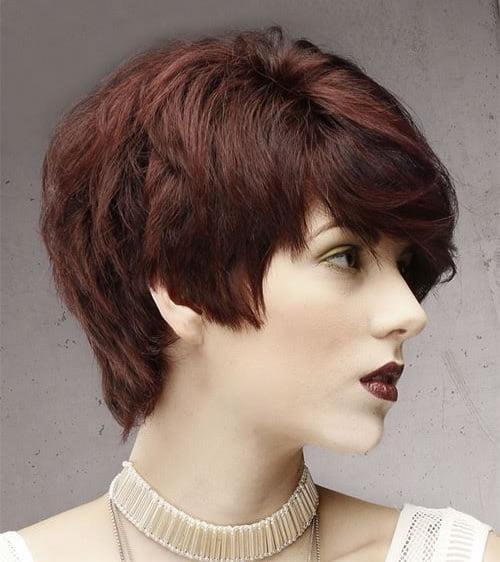 Short Layered Haircut for Women