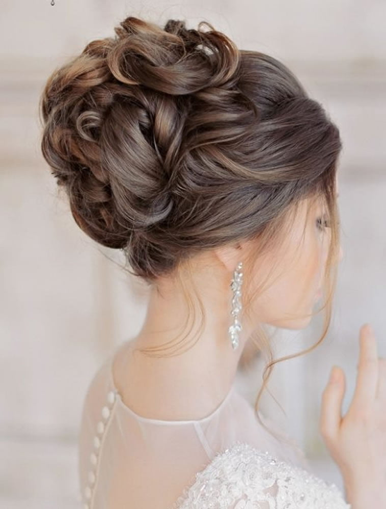updo styles for hair 2018 wedding updo hairstyles for brides hair colors for 4636