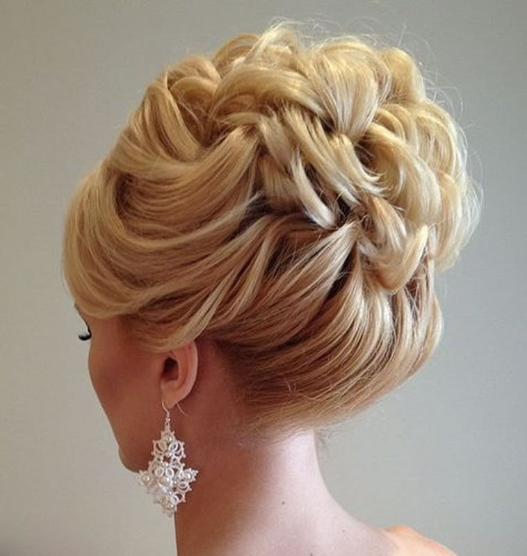 Wedding Hairstyle For Square Face: 2018 Wedding Updo Hairstyles For Brides
