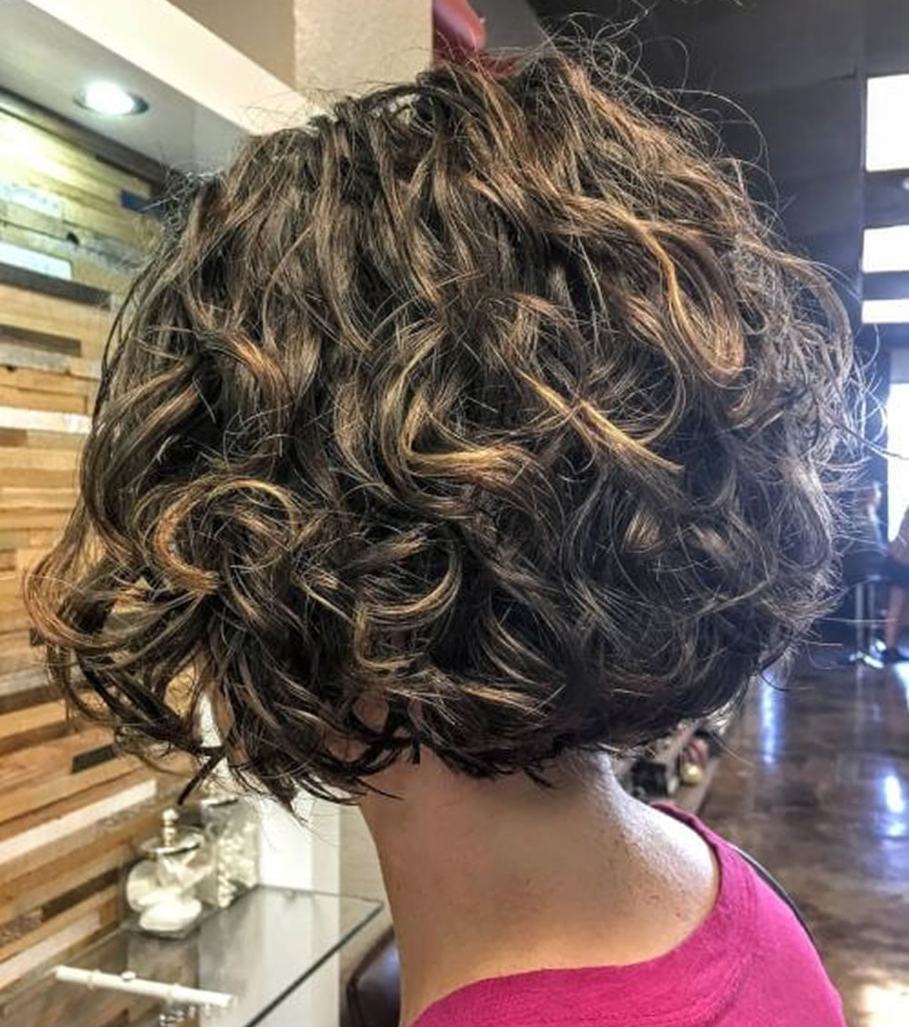 hair color styles for curly hair 30 trendy curly bob haircuts and hair colors for 4042