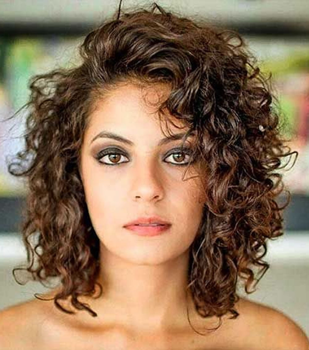 best curly hair styles 30 trendy curly bob haircuts and hair colors for 7453