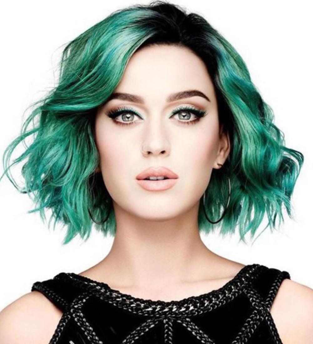 Katy Perry Short Pixie & Bob Haircuts 2018