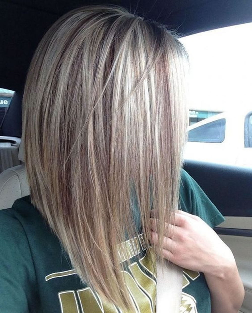 28 Layered Long Bob Hairstyles and Lob Haircuts 2018 – Page 5 ...