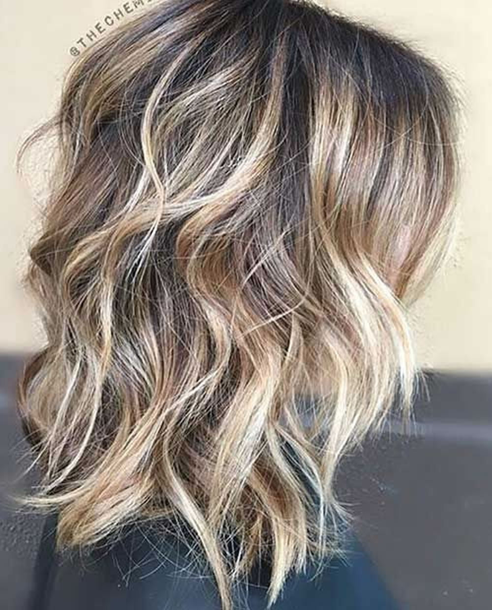 Long Layered Hairstyles 2019: 28 Layered Long Bob Hairstyles And Lob Haircuts 2018