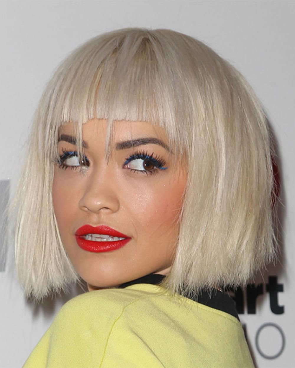 Wedding Hairstyles Youtube: Rita Ora's Short Hairstyles (Pixie + Bob) For 2018