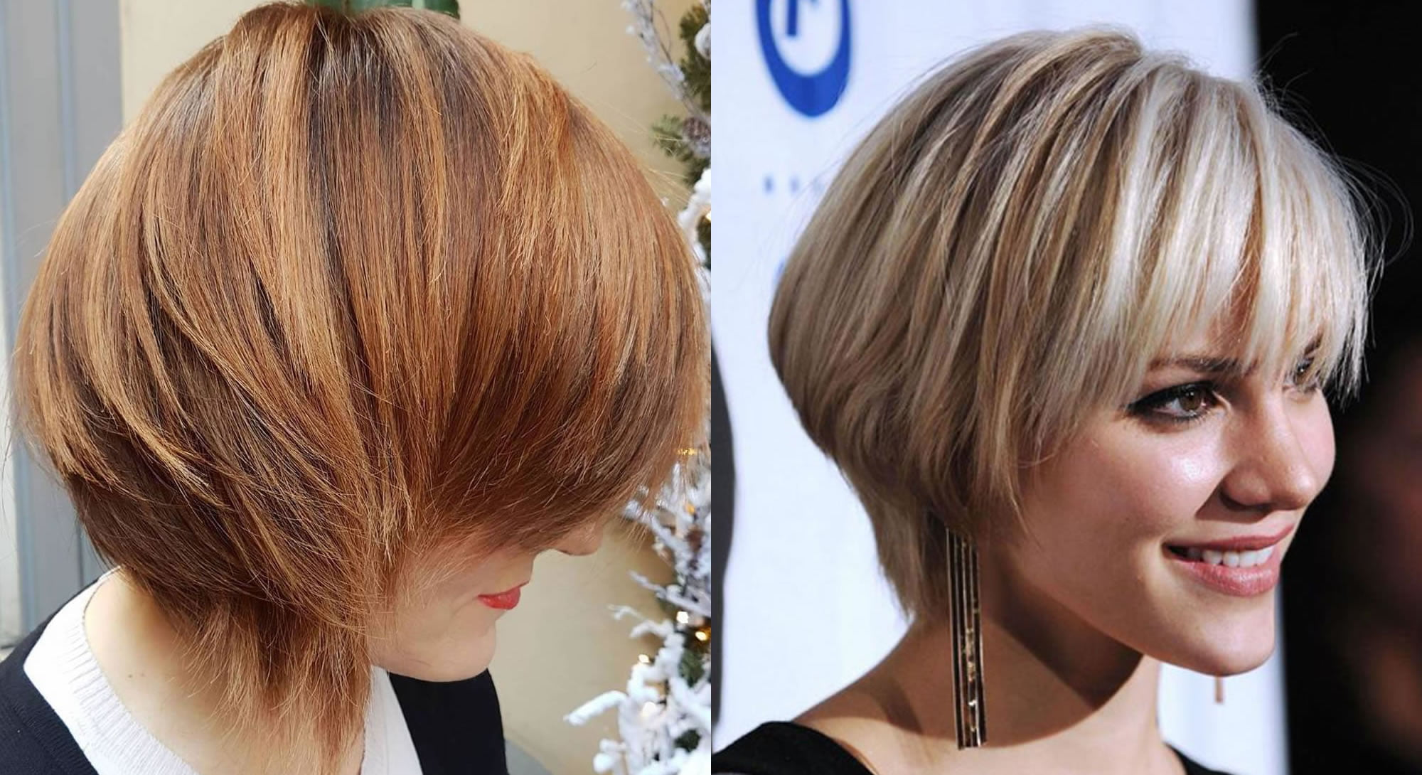 8 Hairstyles: 33 Ravishing Short Bob Hair Cuts With Bangs & New Hair