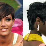 2018 trendy short hair for black women
