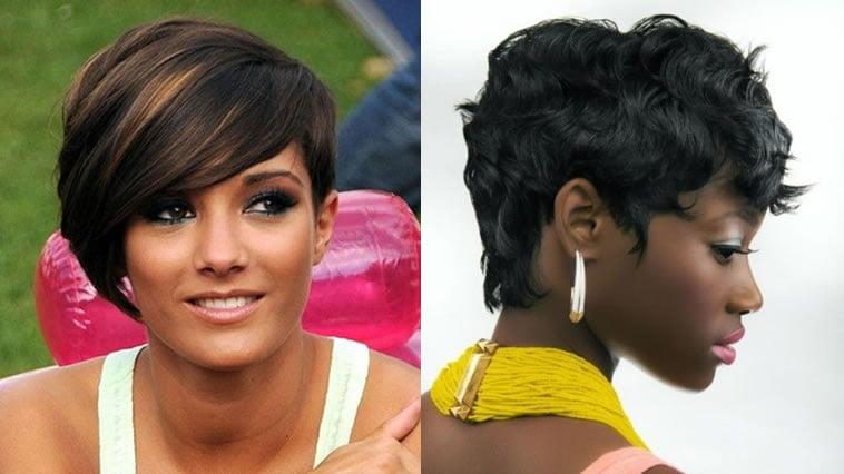 2018 trendy short hair for black women