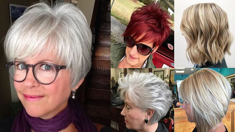 Haircuts and Hairstyles for Women Over 50
