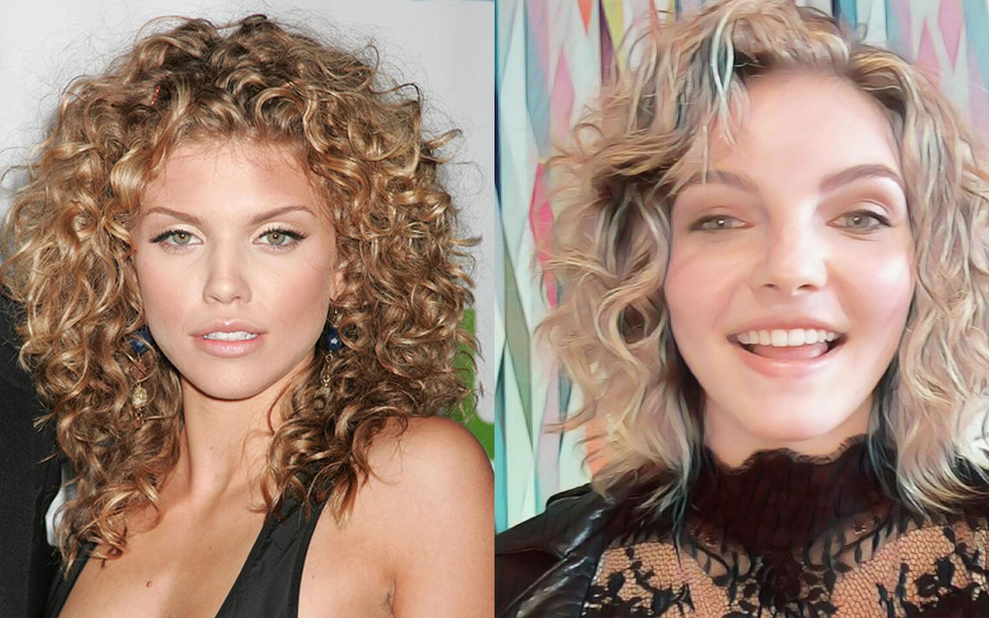 Curly short medium hairstyles