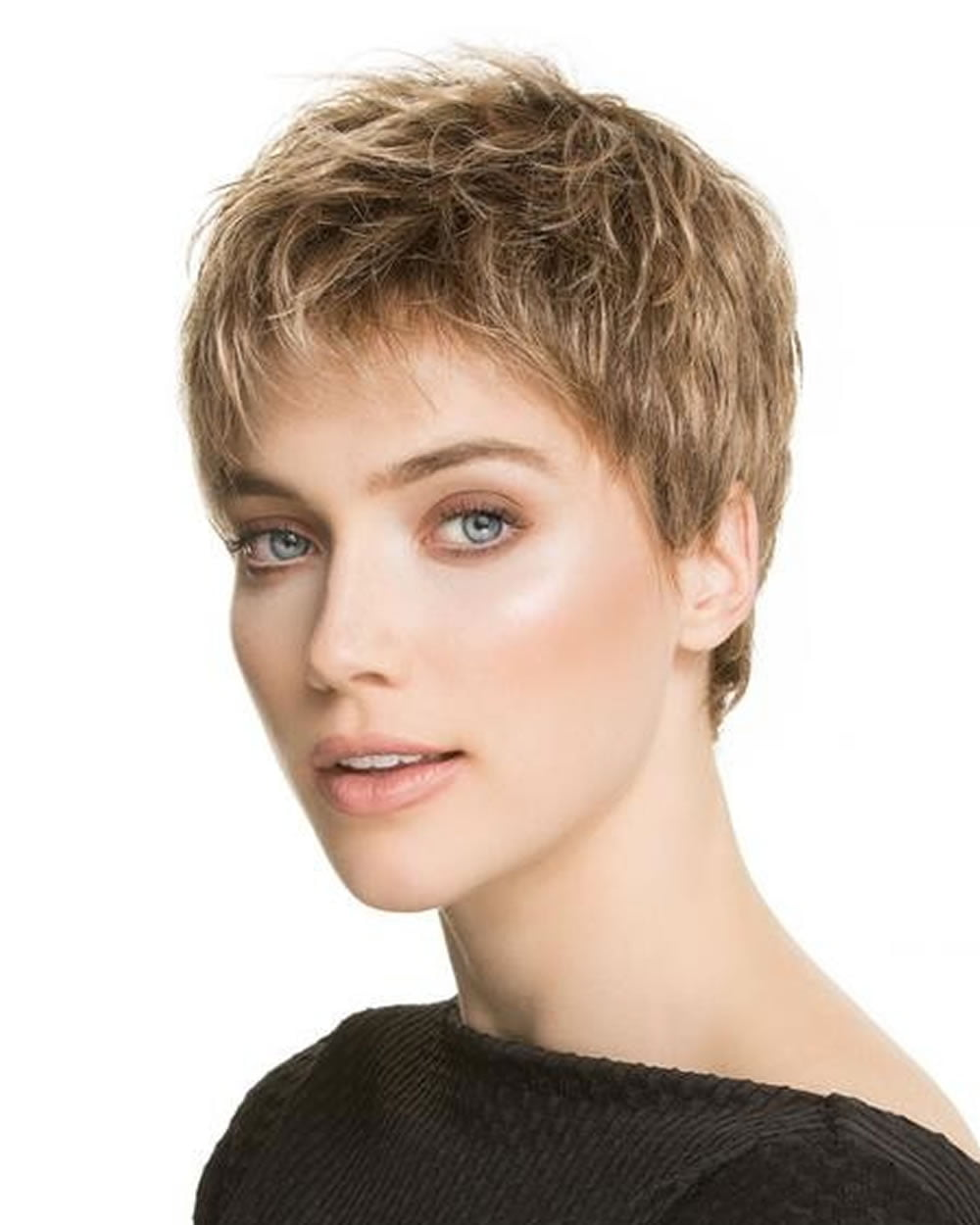 Curly Very Short Pixie Haircut For Girls Hairstyles