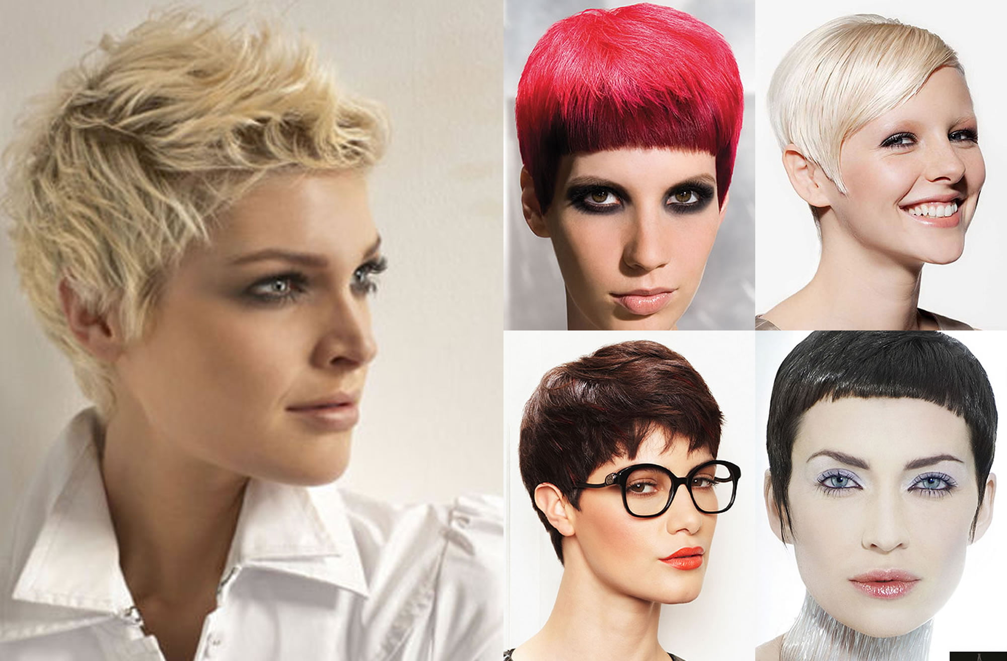 Short hair colors | Trendy short and pixie haircut ideas for 2018-2019 - HAIRSTYLES