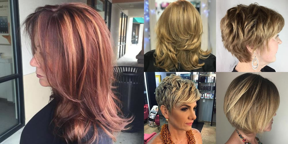 60 Modern Haircuts And Hairstyles For Women Over 50 Page 8